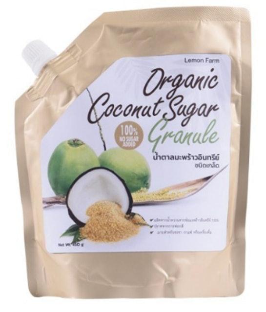 2. น้ำตาลมะพร้าวอินทรีย์ LEMON FARM