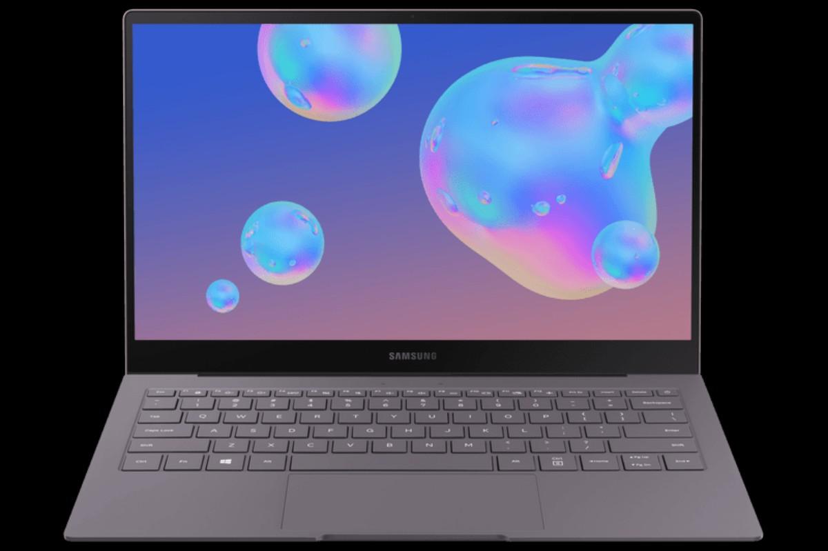 Imagem do notebook modelo Samsung Galaxy Book S