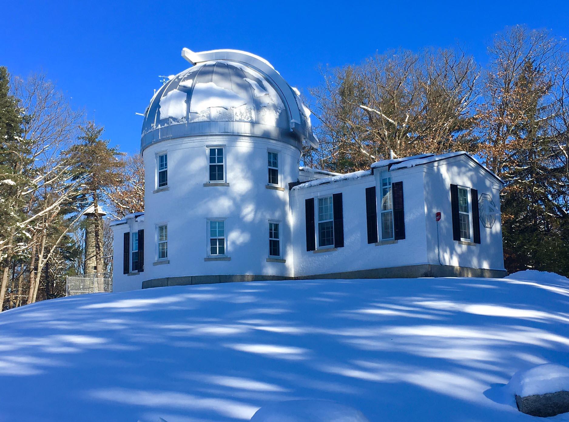 Shattuck Observatory, Thursday December 14, 2017