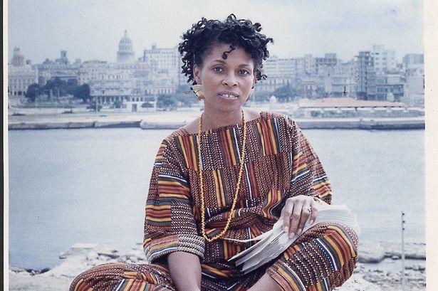 A picture of Assata Shakur in Havana, Cuba