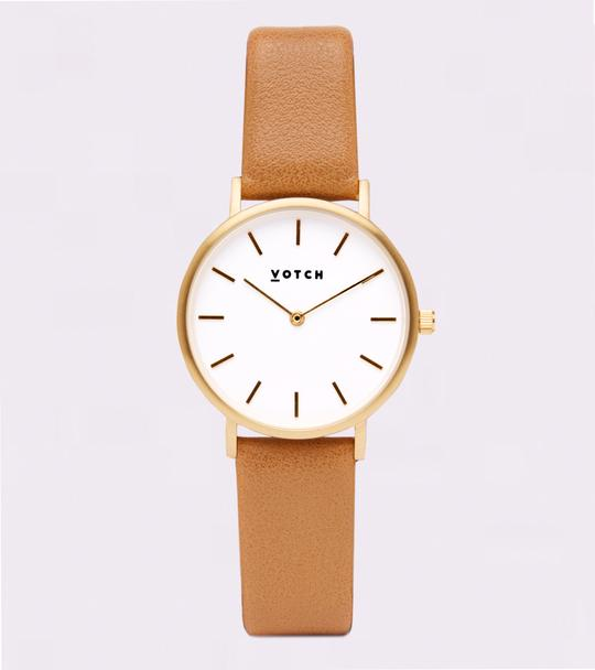 Vegan leather watch from Votch