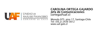 Pie de firma Carola Ortega