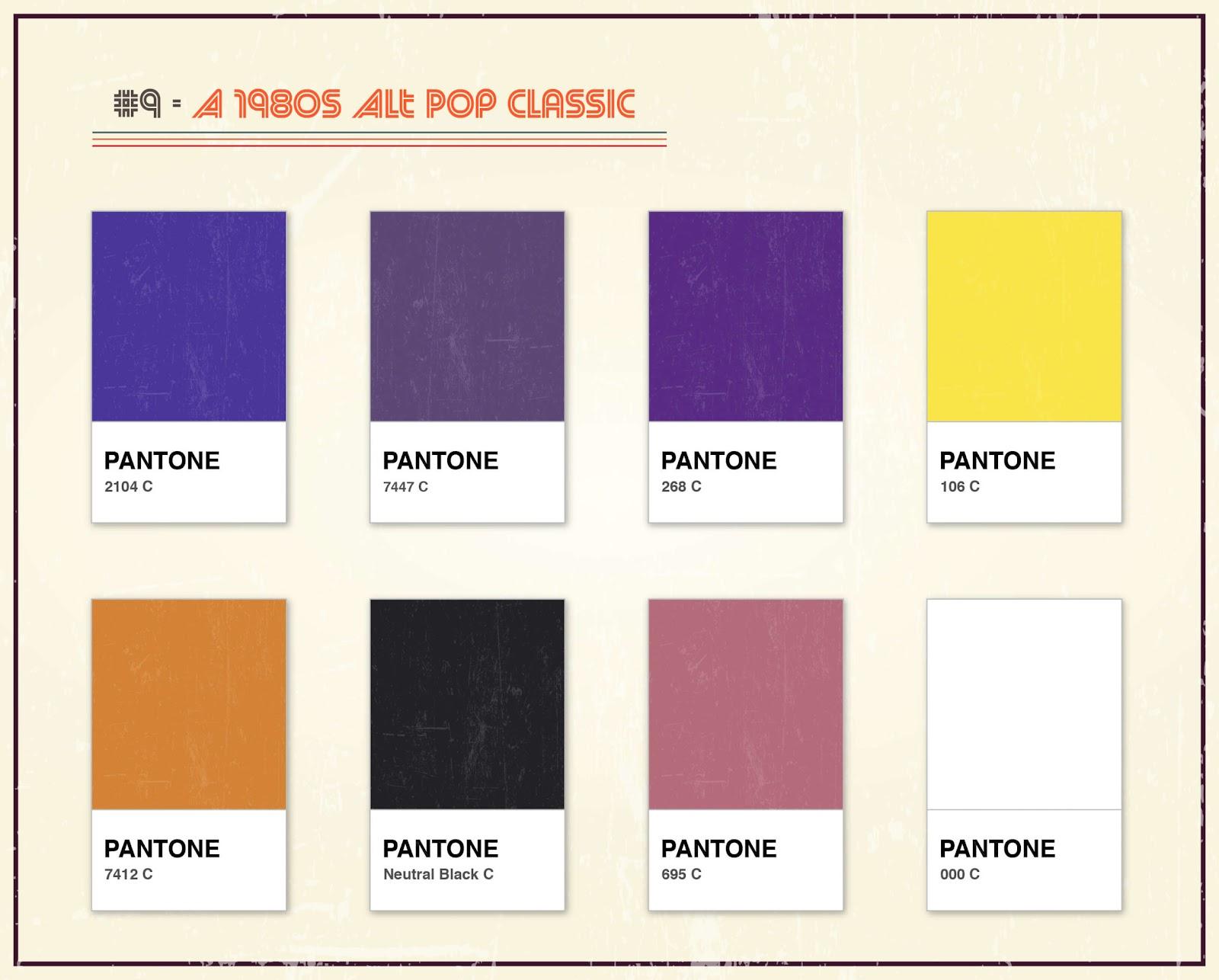 Album Artwork As Pantone: Famous Album Covers Without Text Quiz_9