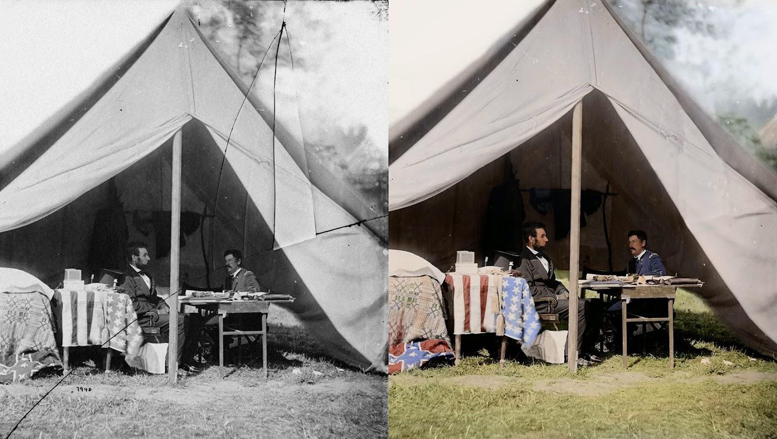 Lincoln Meets General McClellan