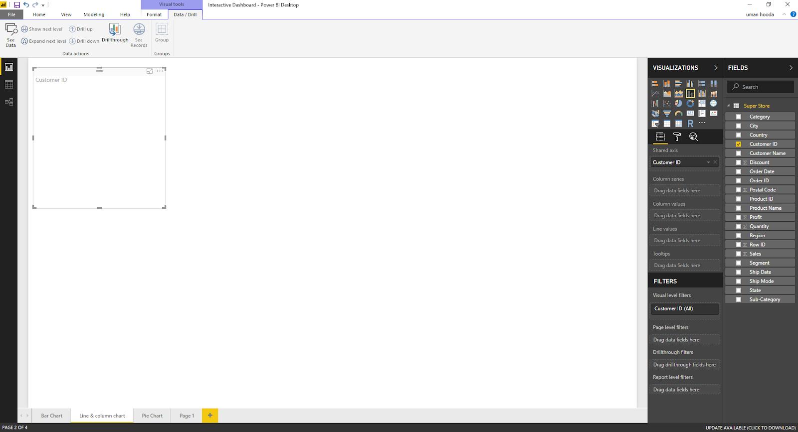 Interactive Dashboard In Microsoft Power BI 34