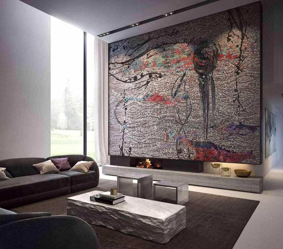 veliki mozaik u sobi