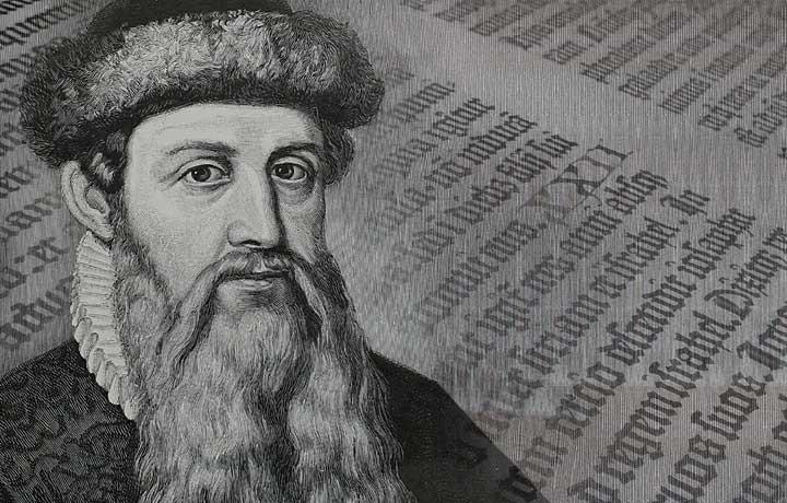 Johannes Gutenberg - Ông tổ nghề in thế giới