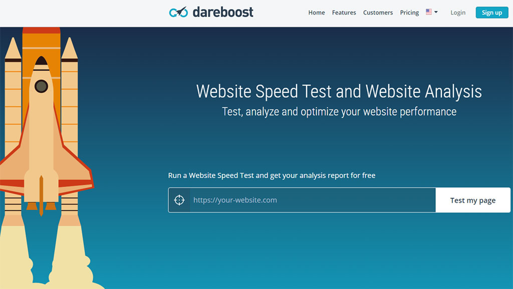 checagem de sites dareboost