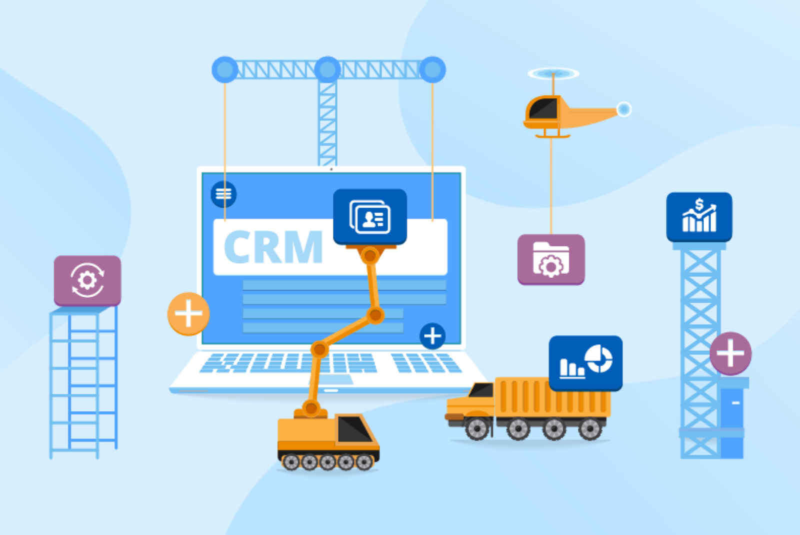 Build a custom crm software