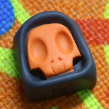 DCcaps - Mini Reaper v2 - Orange and Black