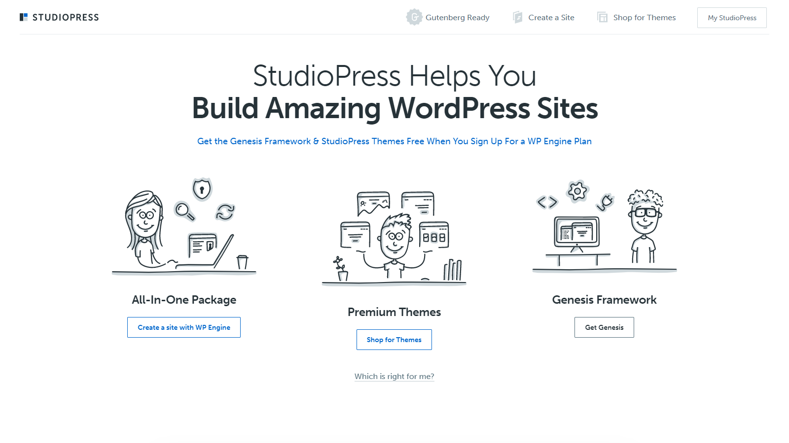 StudioPress sells paid WordPress themes but at premium prices.