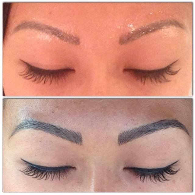 Image result for techniques such as Microblading images