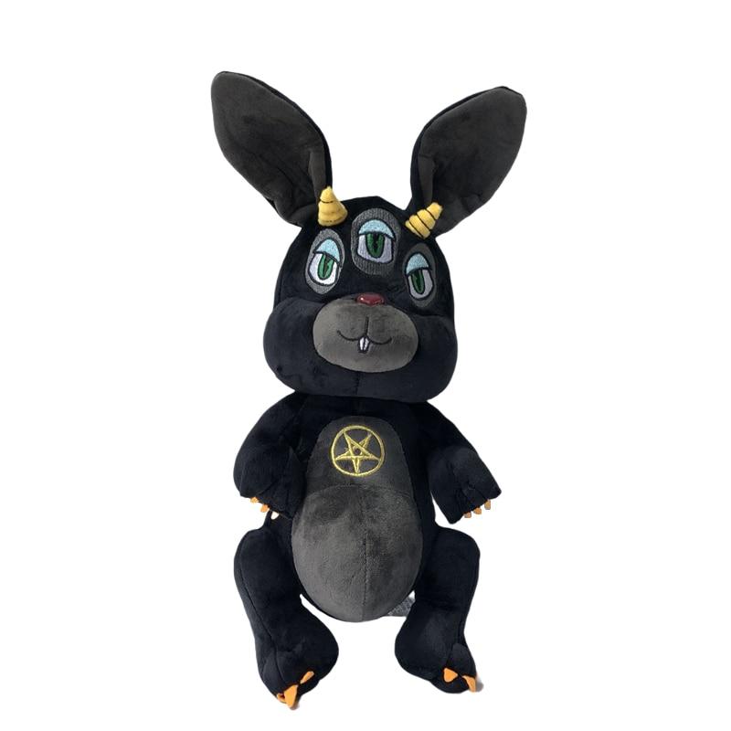 Goth Black Animal Cthulhu Plush Toy Dark Lord Krampus 35cm Myth NEW