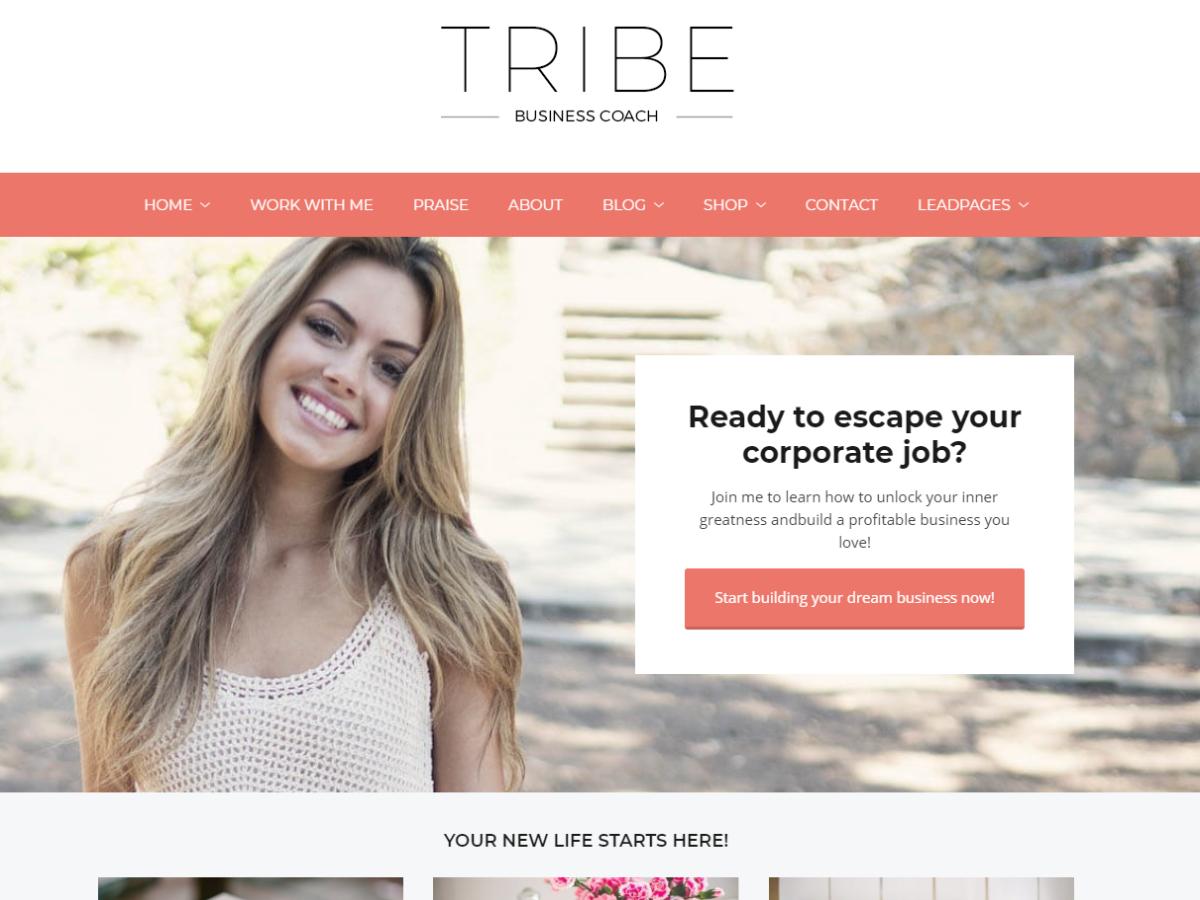 Tribe WordPress Theme