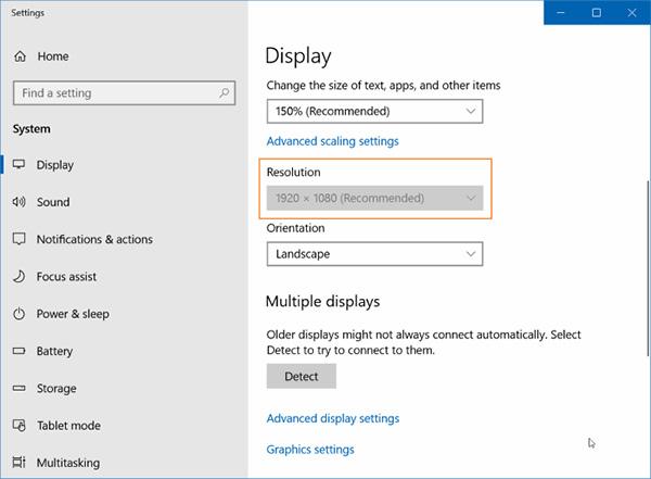 Màn hình laptop trên Windows bị ngược thì phải làm sao?