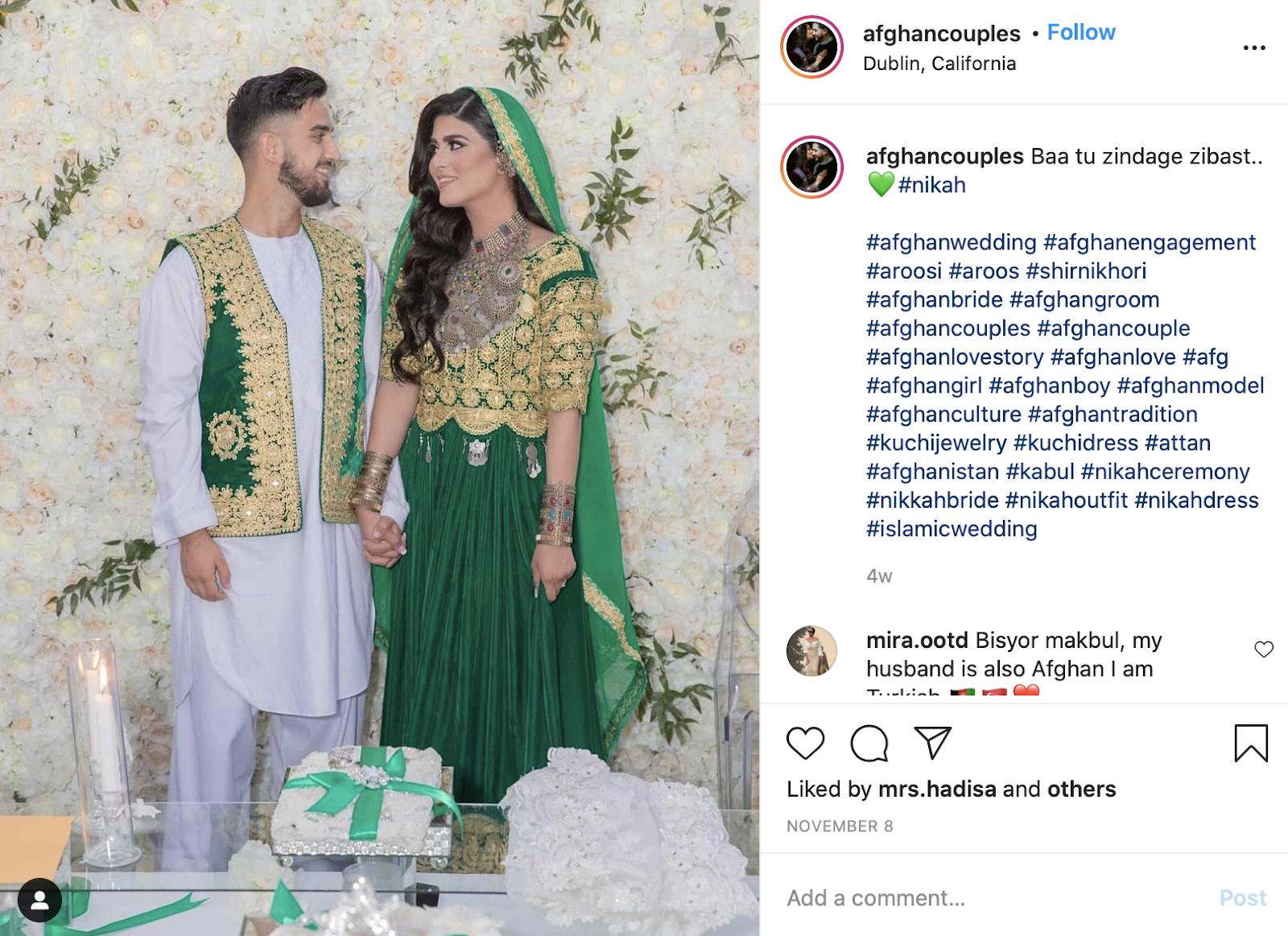 Islamic order of wedding ceremony