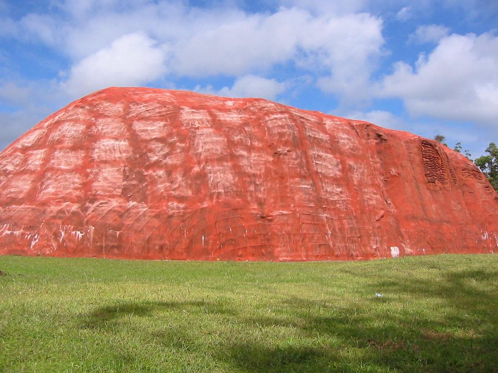 a model Big Ayers Rock