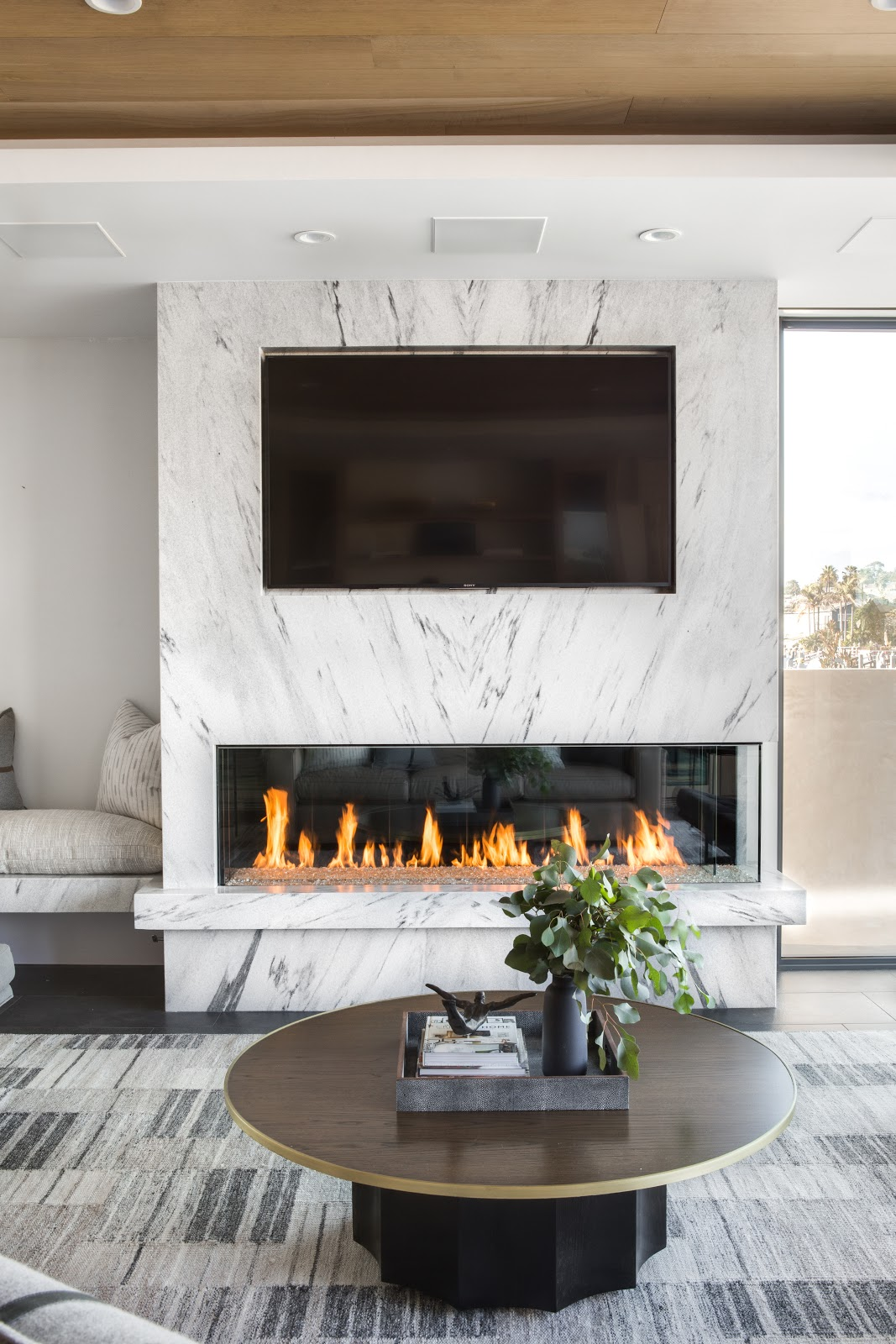 From Backsplash To Hearth This Modern Beach House Is