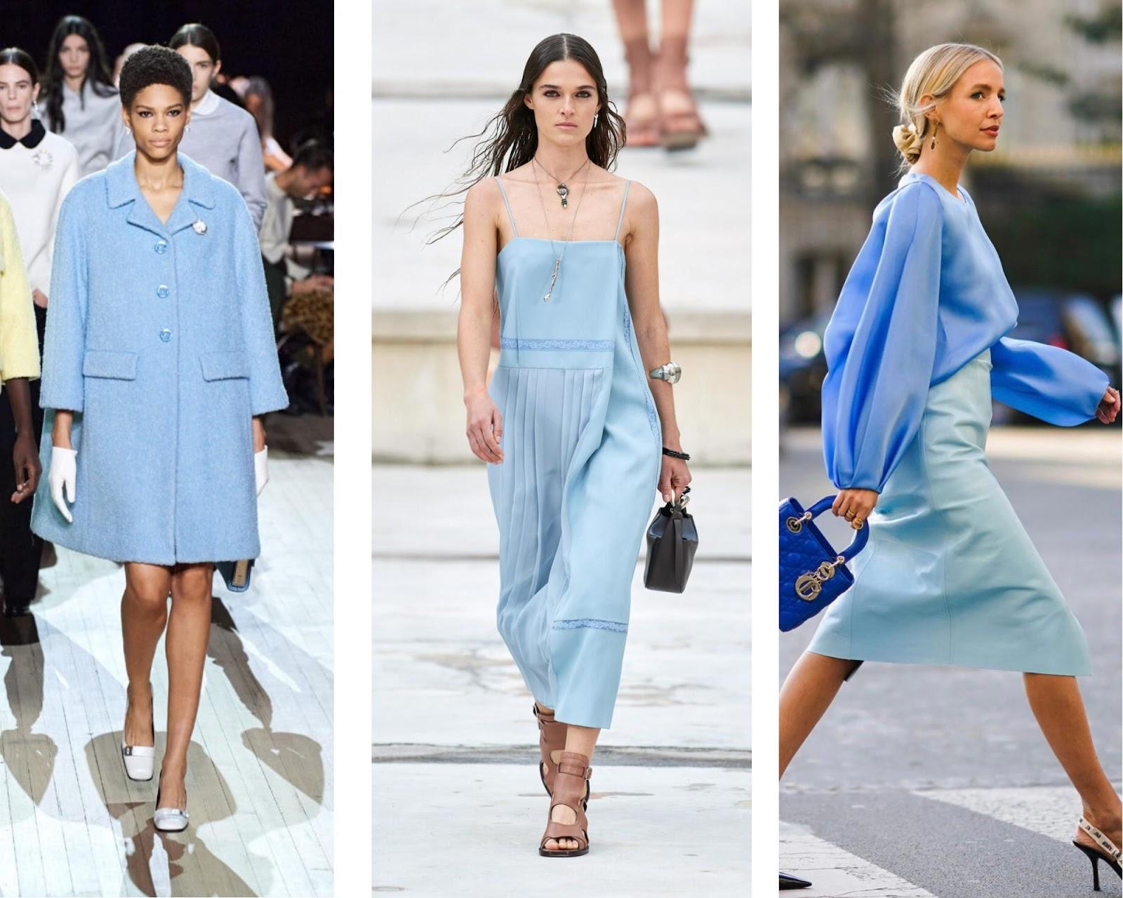 Модные цвета 2021 года.