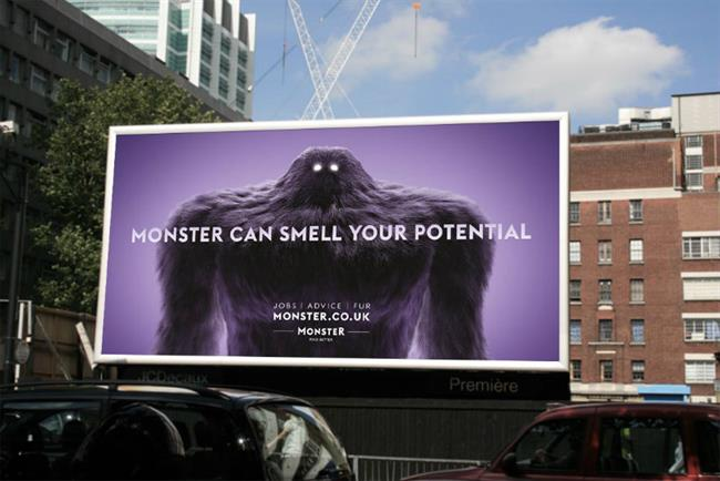 Monster used social media integration and a strategically focussed campaign to target a younger audience.