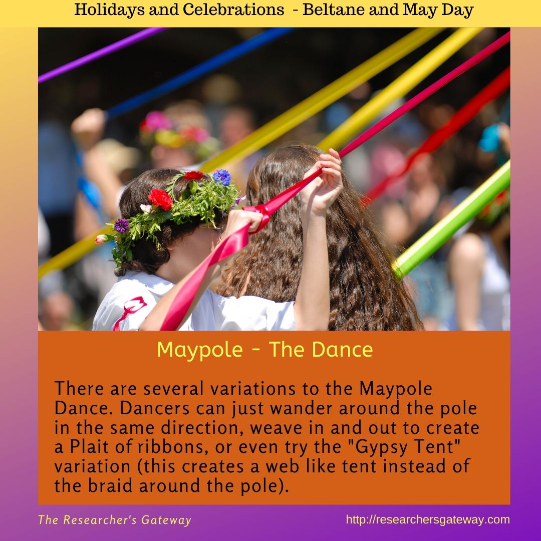 Maypole - the history of the dance.