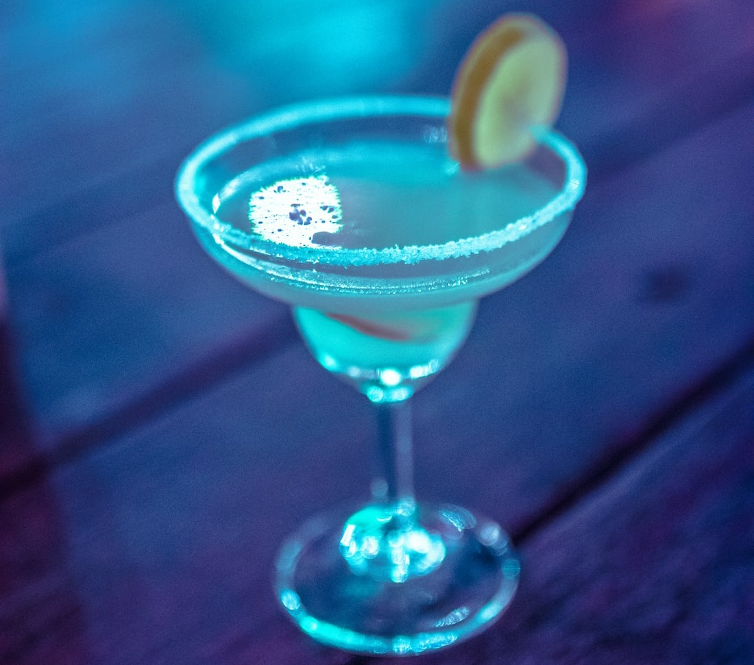Blue Frozen Margarita