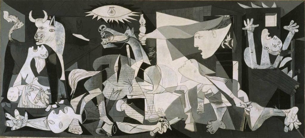 Περιγραφή: Γκουέρνικα» ένας σταθμός στην ιστορία της ζωγραφικής - Κατιούσα