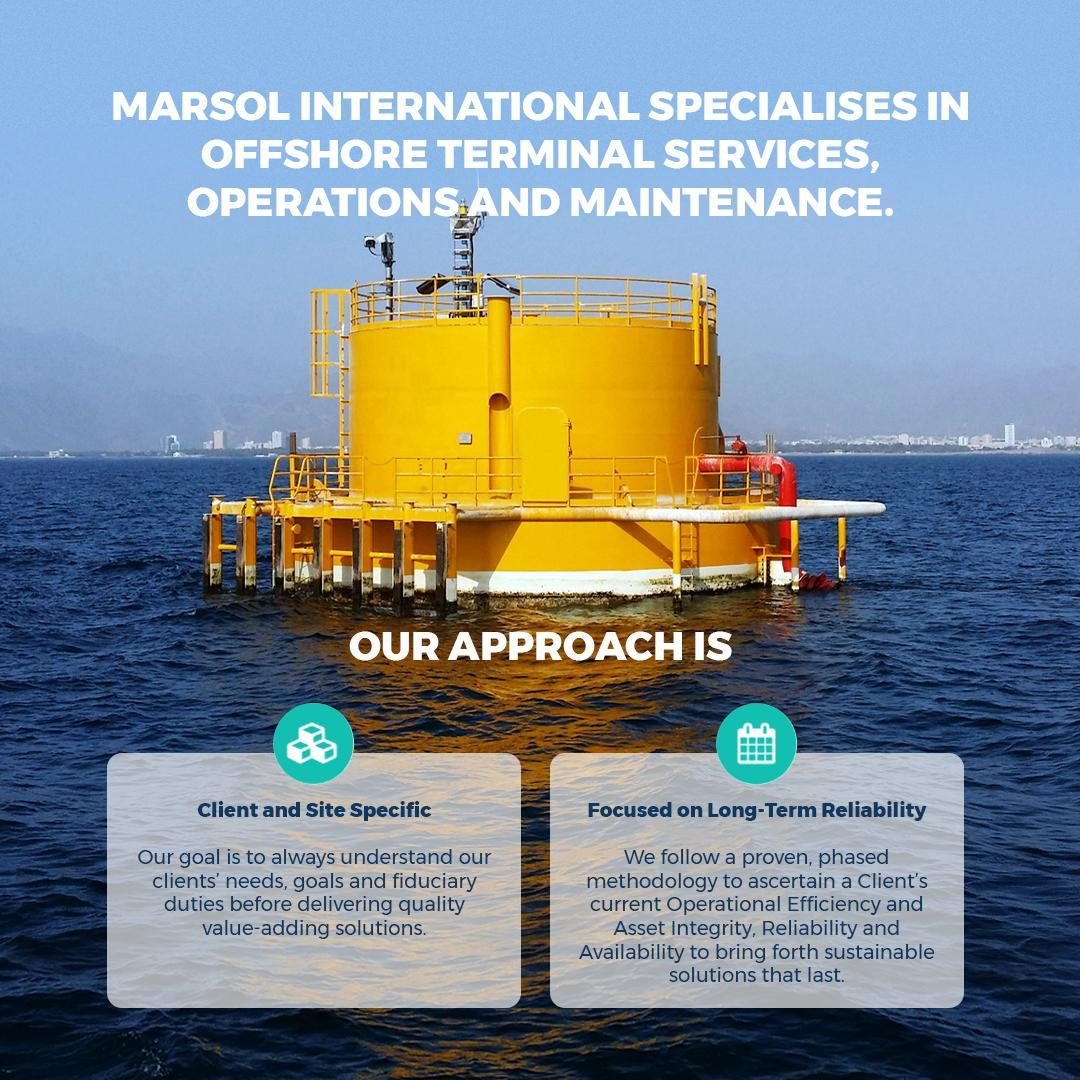 A summary of Marsol's holistic approach to SPM hose testing and other terminal service offerings