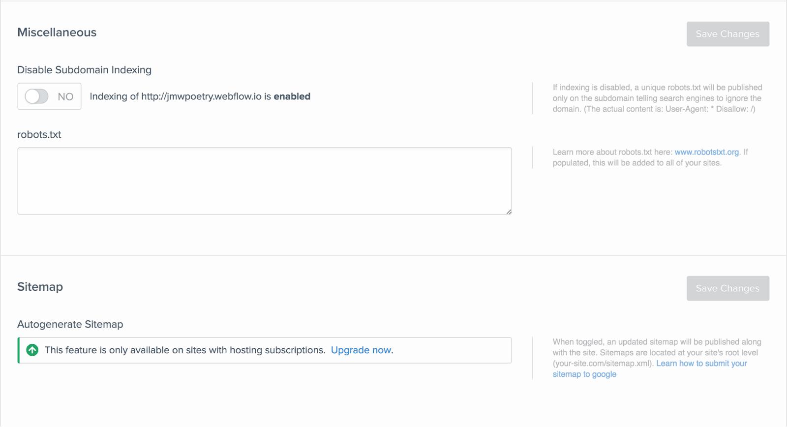Webflow SEO tool