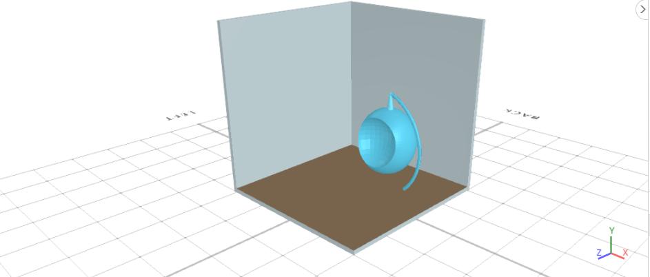 3D design a workspace