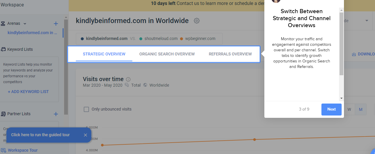 SEMrush vs SimilarWeb Review and Comparison 3