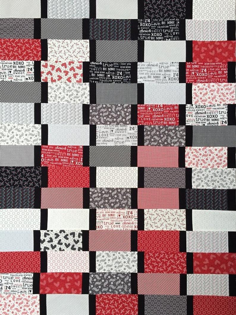 Modern Bricks Quilt