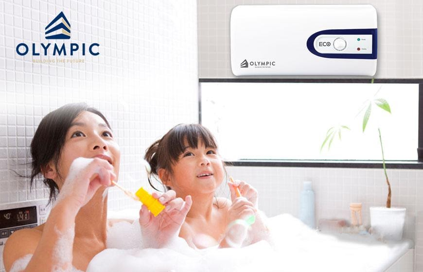 Chọn bình nóng lạnh OLympic cho gia đình bạn
