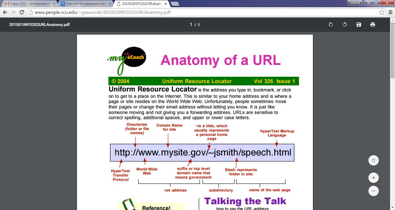 Asombroso Anatomy Of A Url Address Elaboración - Imágenes de ...