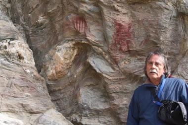 Se trata del primer hallazgo de arte rupestre en la región más austral del mundo