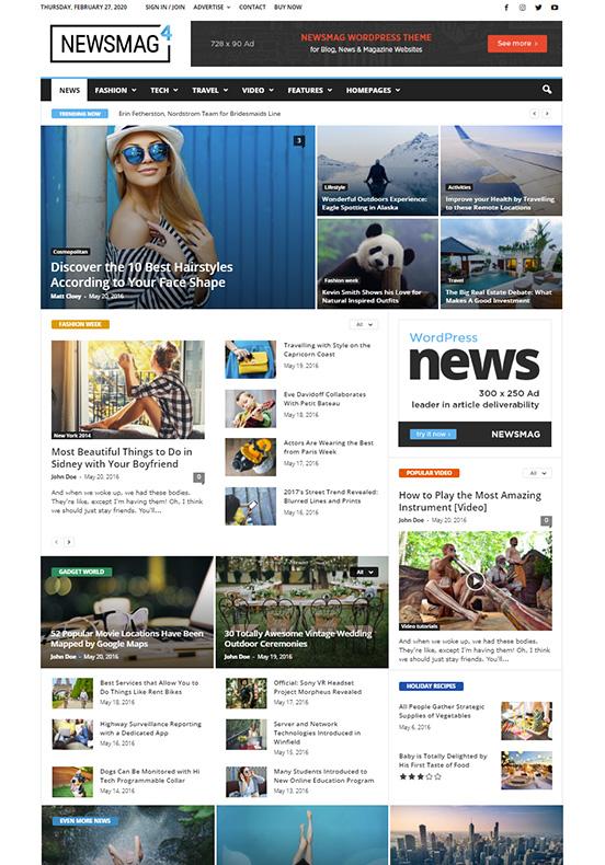 Meilleurs thèmes WordPress AdSense pour les meilleurs revenus