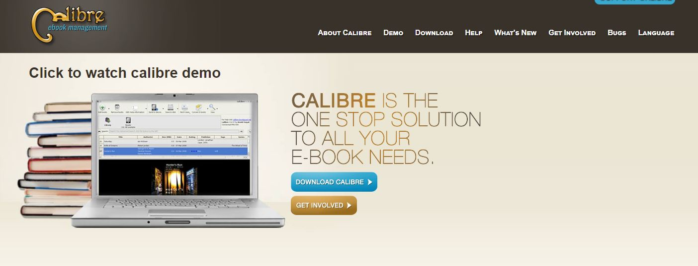 ePub Reader - Calibre