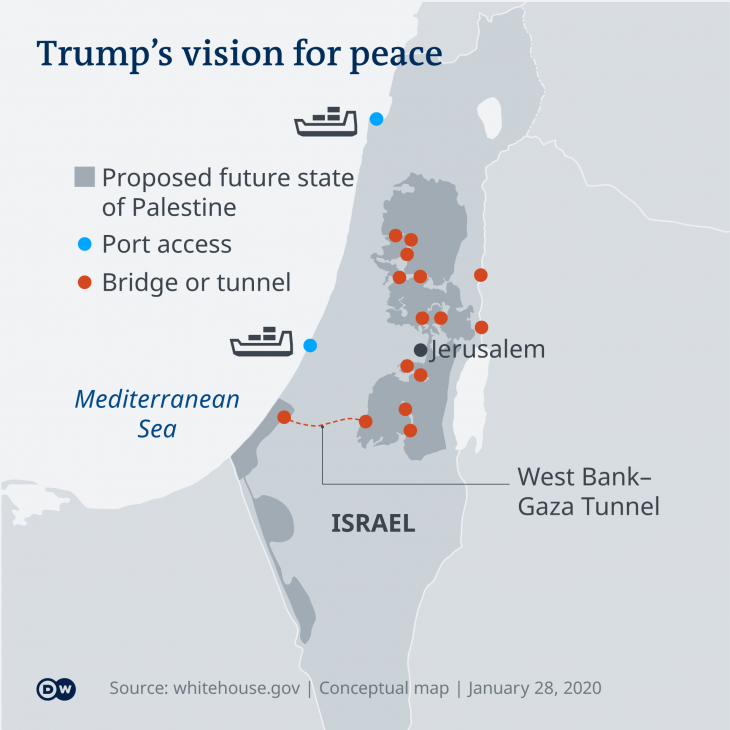 USA, Israel and the Palestinians: Trump's sham attempt at peace ...