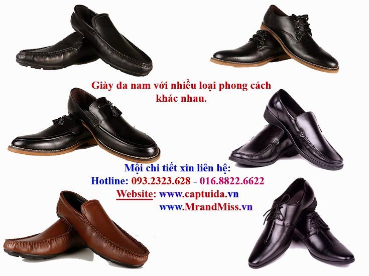 Kịch trần giảm giá!! Giày da nam, giày nam xuất khẩu.