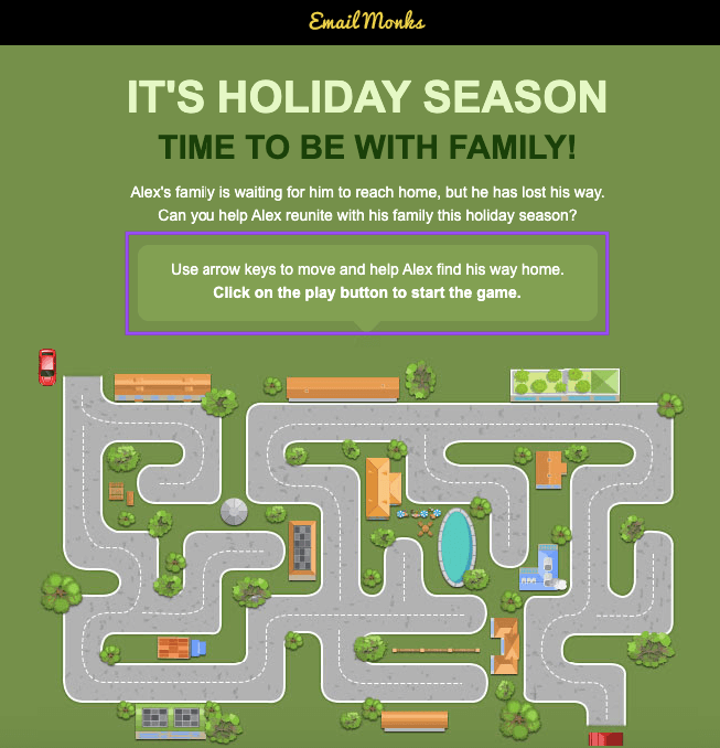 Holiday season template