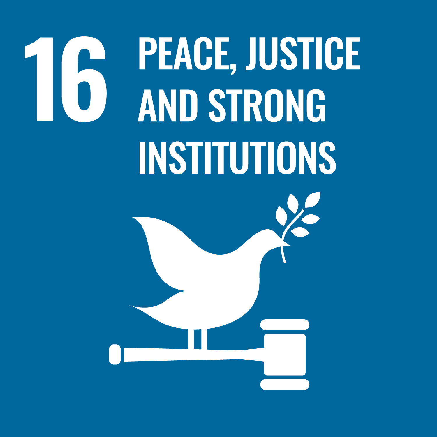 Sustainable Development Goal 16. Promote just, peaceful and inclusive societies.