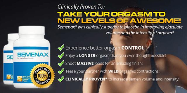 Clinically Proven Semenax Male Enhancement Pills