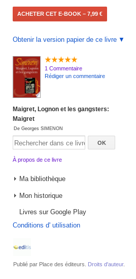 Savoir utiliser Google Livres