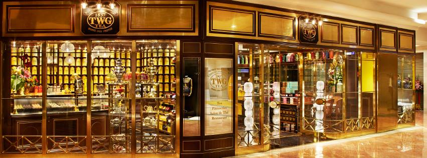 TWG Tea Salon & Boutique view