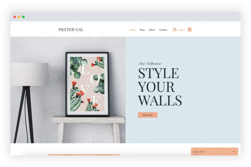 lively-online-store-template