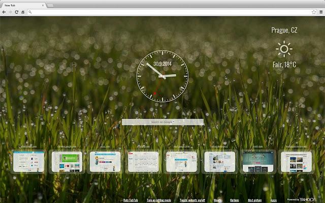 TabTab - New tab page chrome extension