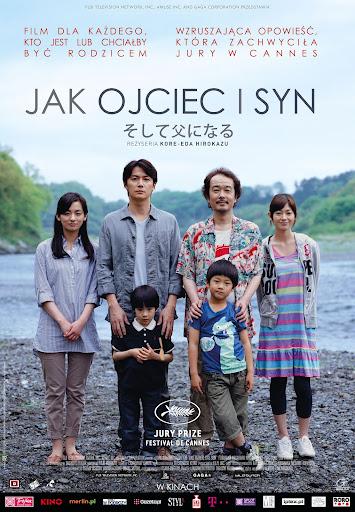 Polski plakat filmu 'Jak Ojciec i Syn'