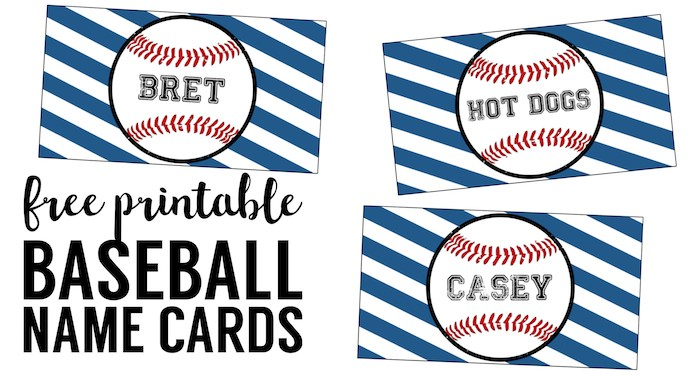 Kara's Party Ideas 15 Baseball Baby Shower Printables