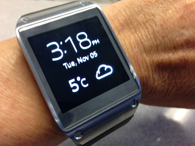 Trying out the Samsung Galaxy Gear with the Note 3