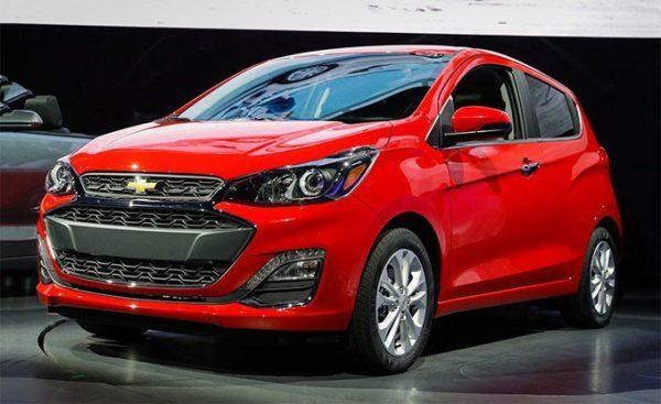 Các loại xe ô tô 4 chỗ giá rẻ năm 2019 - Chevrolet Spar
